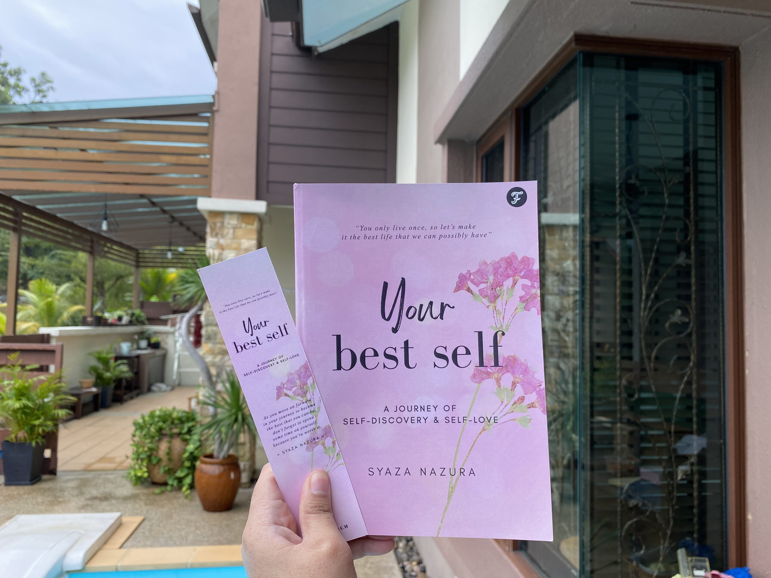 Writing my first book, Your Best Self.